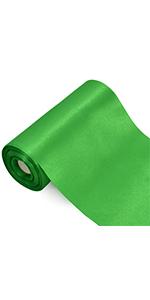 6 inch ribbon green