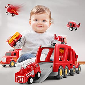 cars for toddlers 1-3 toys for 2 year old boy gifts for 3 year old girl