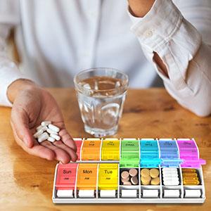 pill organizer am pm