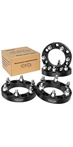 "6x5.5 to 6x5.5 Wheel Spacers 1"", 6x139.7mm Wheel Adapters to-yota Tacoma 4Runner Tundra FJ Cruiser"