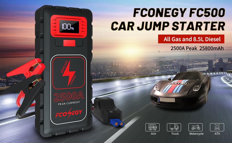 FCONEGY FC500 CAR JUMP STARTER