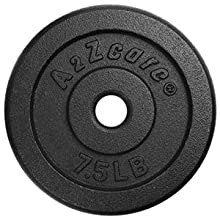 Weight plate for d7.5 LBSumbbell