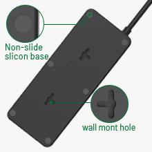 Wall Mountable amp; Non-Slip Mat
