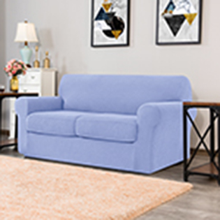Hokway Couch Cover for 2 Cushion Couch