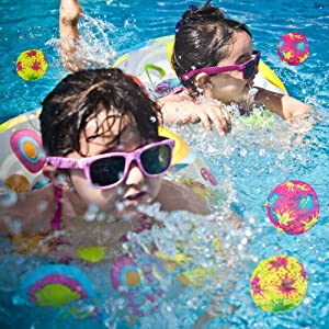 beach balls, beach ball, Rainbow Beach Ball, splash balls, Waterballs, Water Splash Ball Set