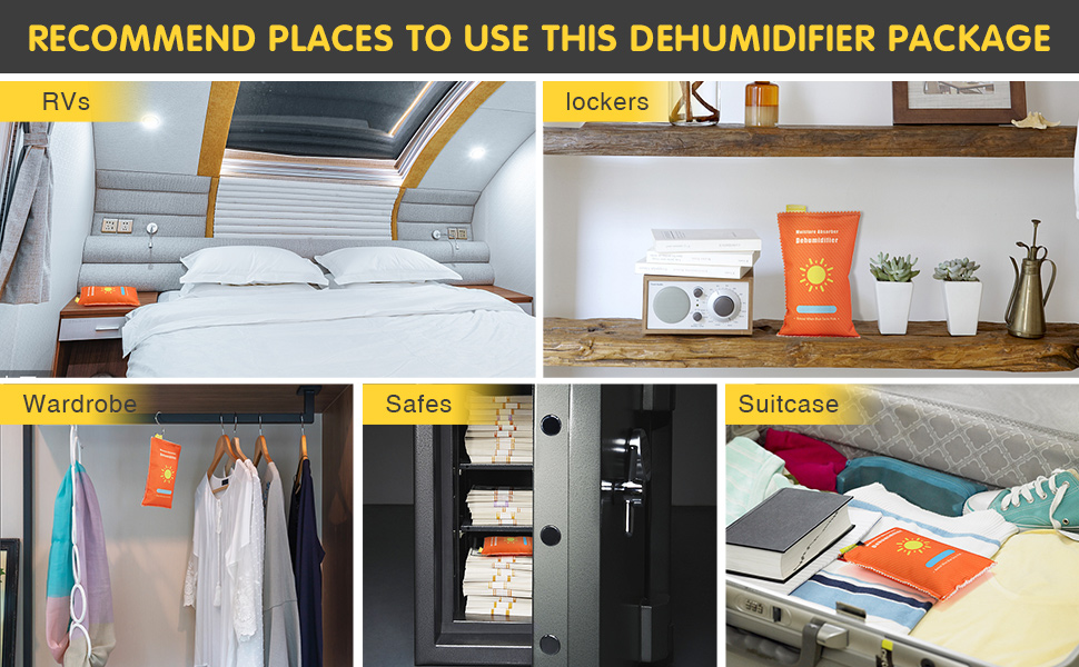 Recommend Places to Use This Dehumidifier Package