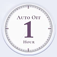 Guard Your Safety:60-minutes auto shutoff gives you added peace of mind with every use.