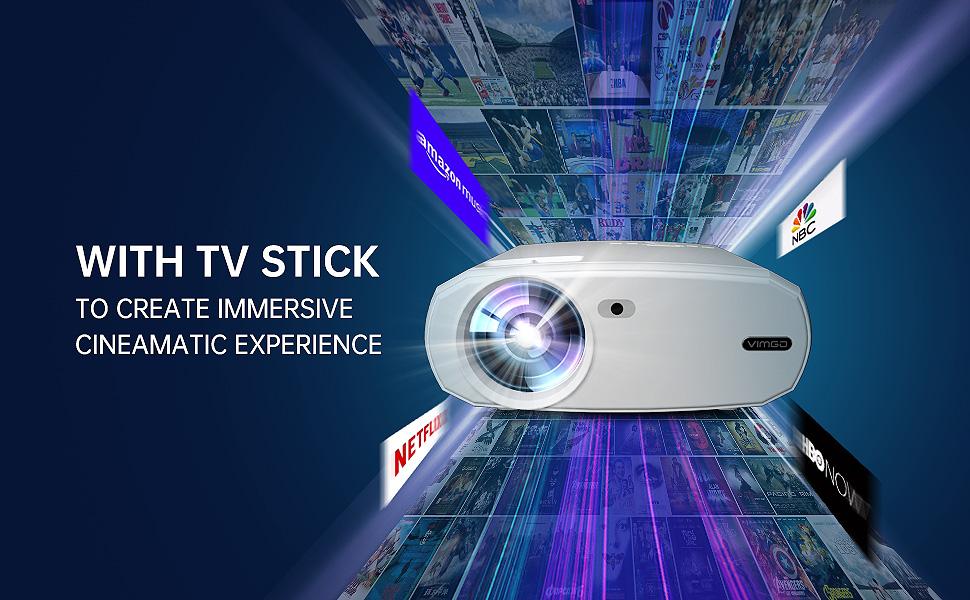 VIMGO VENUS X3 native 1080p projector