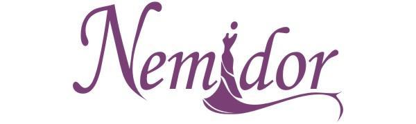 Nemidor Womens Floral Print V-neck Belted Plus Size Summer Beach Boho Maxi Long Dress