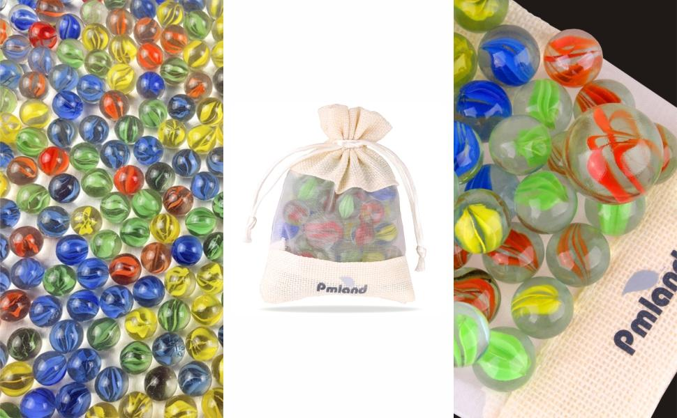 Marbles come in multiple colors