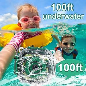 kids underwater camera