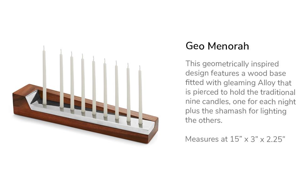 Geo Menorah Description