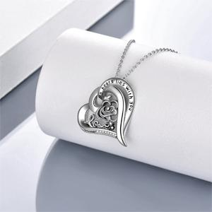 Rose Flower Necklace-5