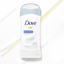 Clean scent, the fresh, original scent will leave you feeling clean long after you shower, Dove
