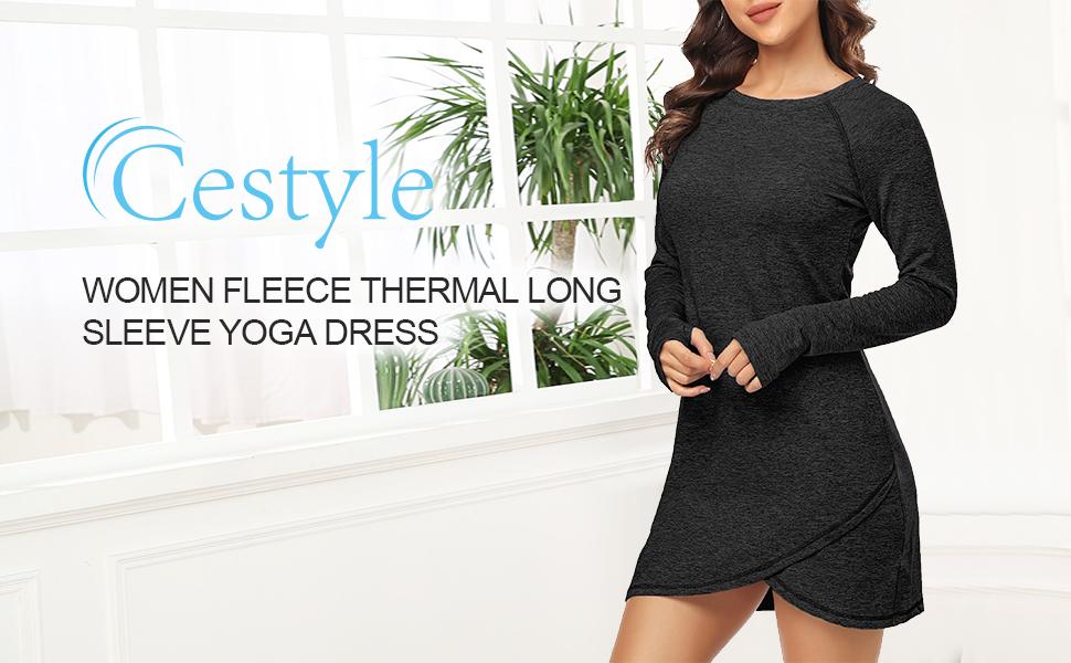women yoga dress