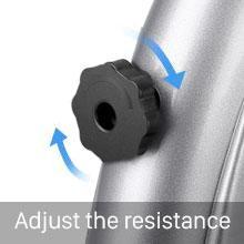 Adjust the resistance