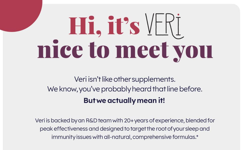 Veri supplements