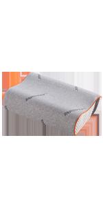 SINOMAX Contour Memory Foam Pillow