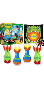 Inflatable Lawn Darts Outdoor Games