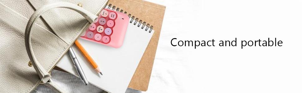 portable mini keypad