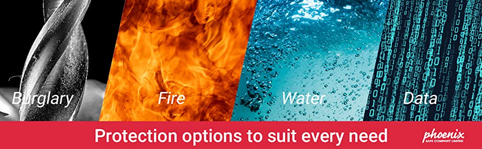 burglary fire water data protection safe
