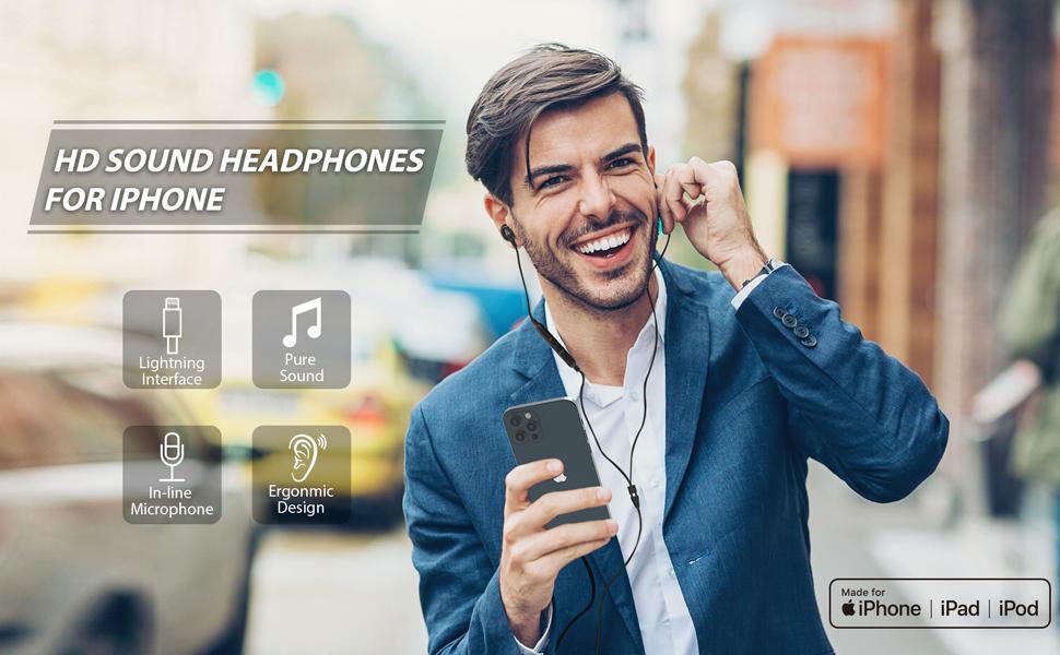 iPhone 12 Pro earphones