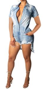 Denim rompers for women,jumpsuits for women elegant,wide leg jumpsuits for women,rompers for women