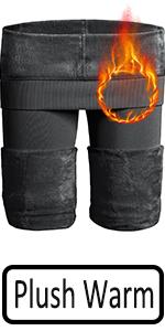 grey warm leggings women