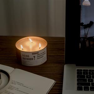 100% natürliches Material Hochwertige Kerzen