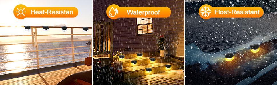 waterproof and heat-resistant