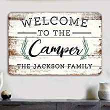 Camping Accessories Signs