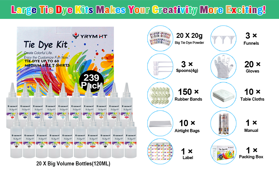 tie dye kit for large groups