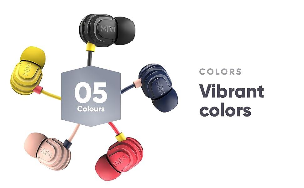 Earphones Colours