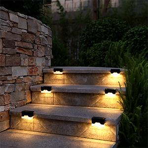 solar step lights