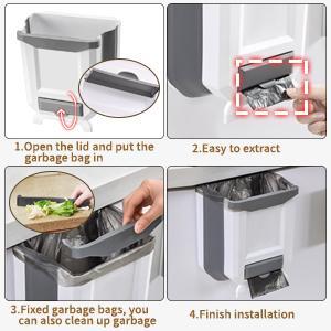 kitchen hanging garbage can