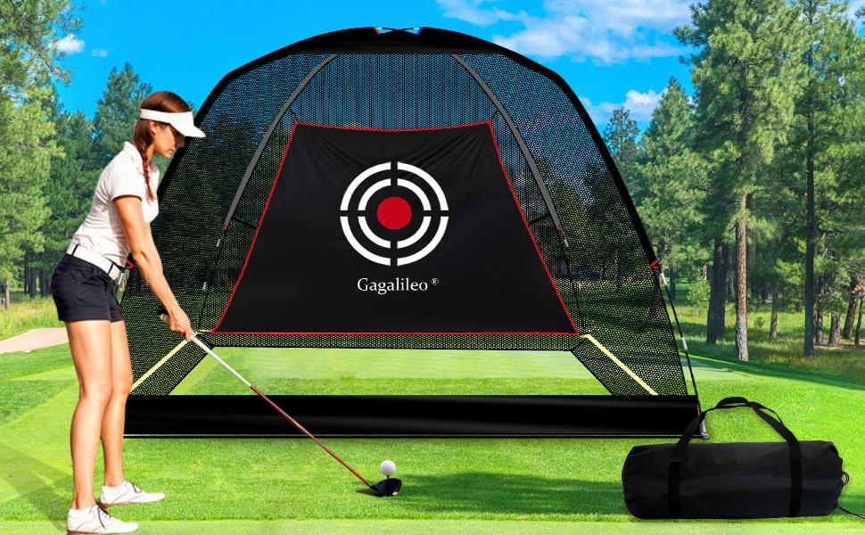 golf hitting net practice