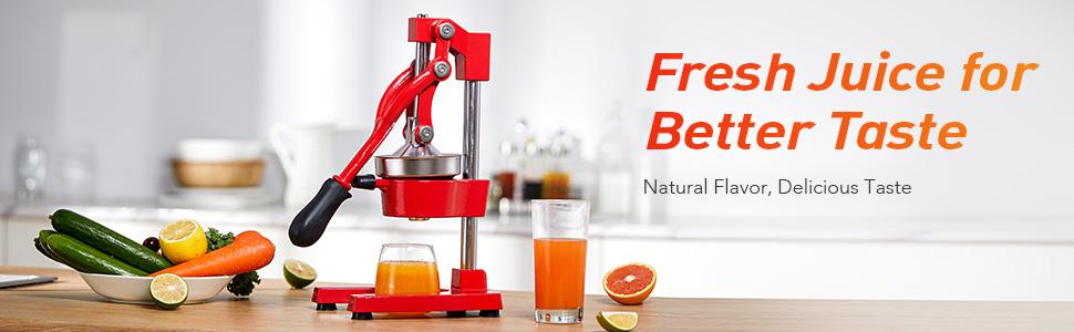 fresh juice presser