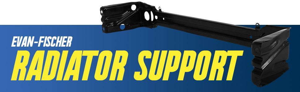 Aftermarket Replacement Radiator Support