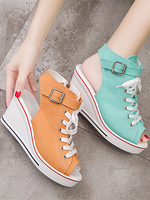 summer wedge sandal