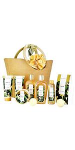 vanilla spa gift set for women