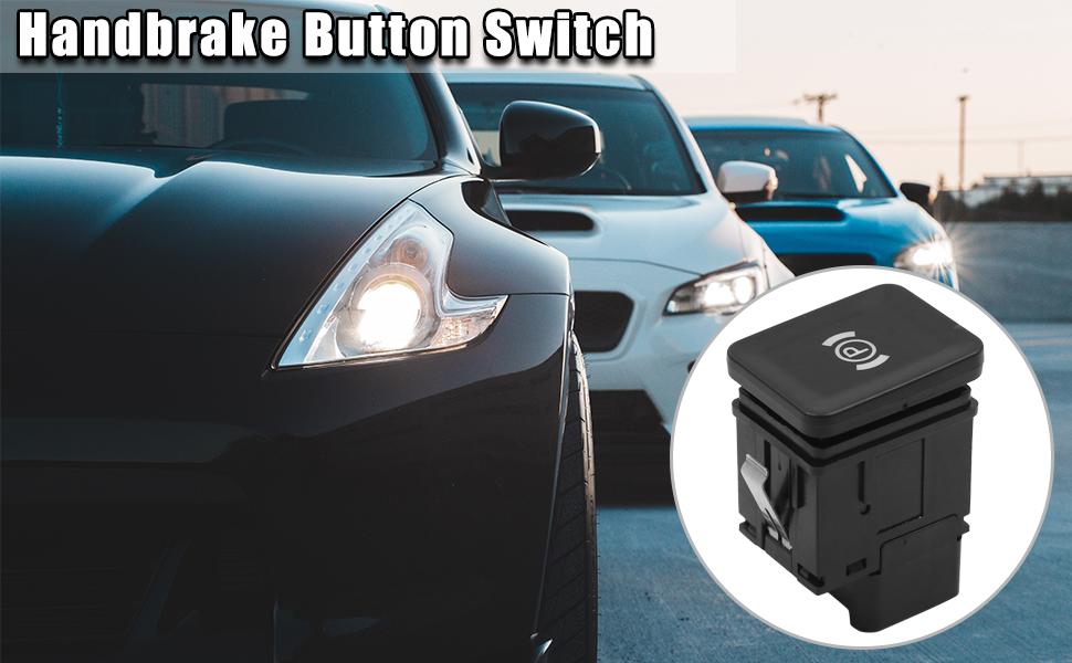 DC 12V Car Electronic Handbrake Button Switch for Volkswagen Passat 3C0927225C