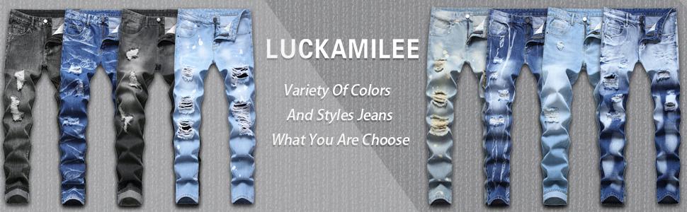 LUCKAMILEE Jeans