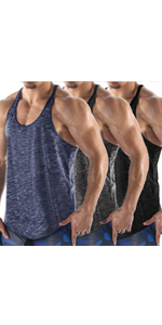 mens stringer tank top sleeveless gym shirt muscle fit tank running shirt quick dry tank top men