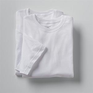 Details about  /Jockey Mens Tall Man Classic Crew Neck 2 Pack T-Shirts Shirts 100/% cotton