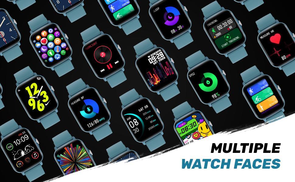 multi watch face smartwatch
