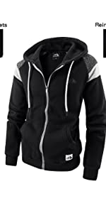 big and tall zip up hoodies for men