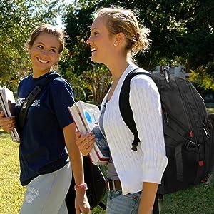 College School Backpack for Men Women