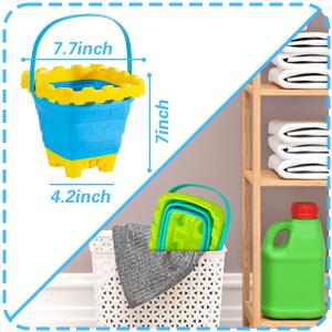 collapsible sand bucket