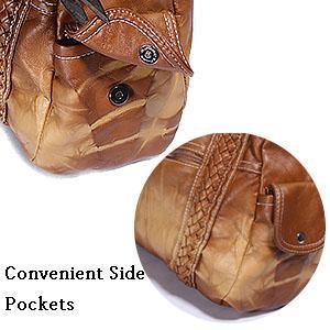 Convenient Side Pockets