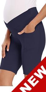 pregnancy biker shorts maternity leggings maternity yoga pants maternity shorts active